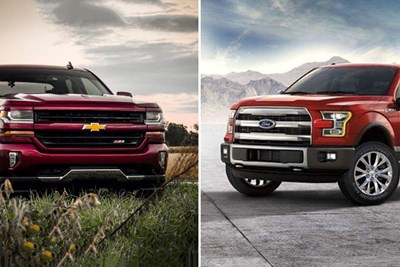 Chevrolet Silverado 1500 vs. Ford F-150