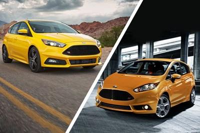 El Ford Focus vs. El Ford Fiesta