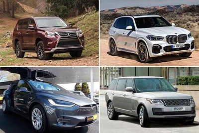 2019's Best Luxury Mid-Size SUVs