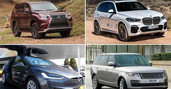 2019 S Best Luxury Mid Size Suvs