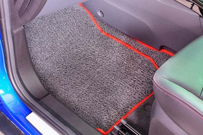 Floor mats can drastically improve the life of a car's carpet.