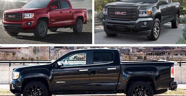 2019 GMC Canyon options