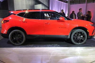 The all-new 2019 Chevy Blazer