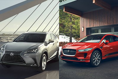 lexus nx and jaguar i-pace