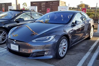 a tesla model s has the longest electric car range