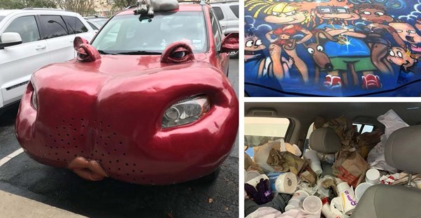 The Trashiest Things People Have Done to Their Vehicles