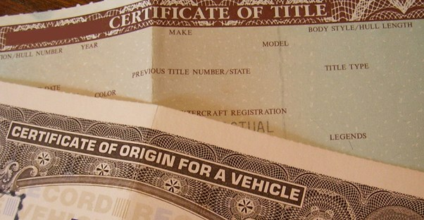 Transferring a Car Title